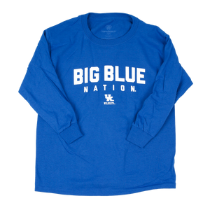 Big Blue Nation Long Sleeve Royal