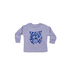 Big CAT Toddler LS Sport Grey