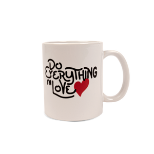Do Everything White Mug