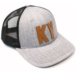 KY 2 Tone Grey Mesh Hat