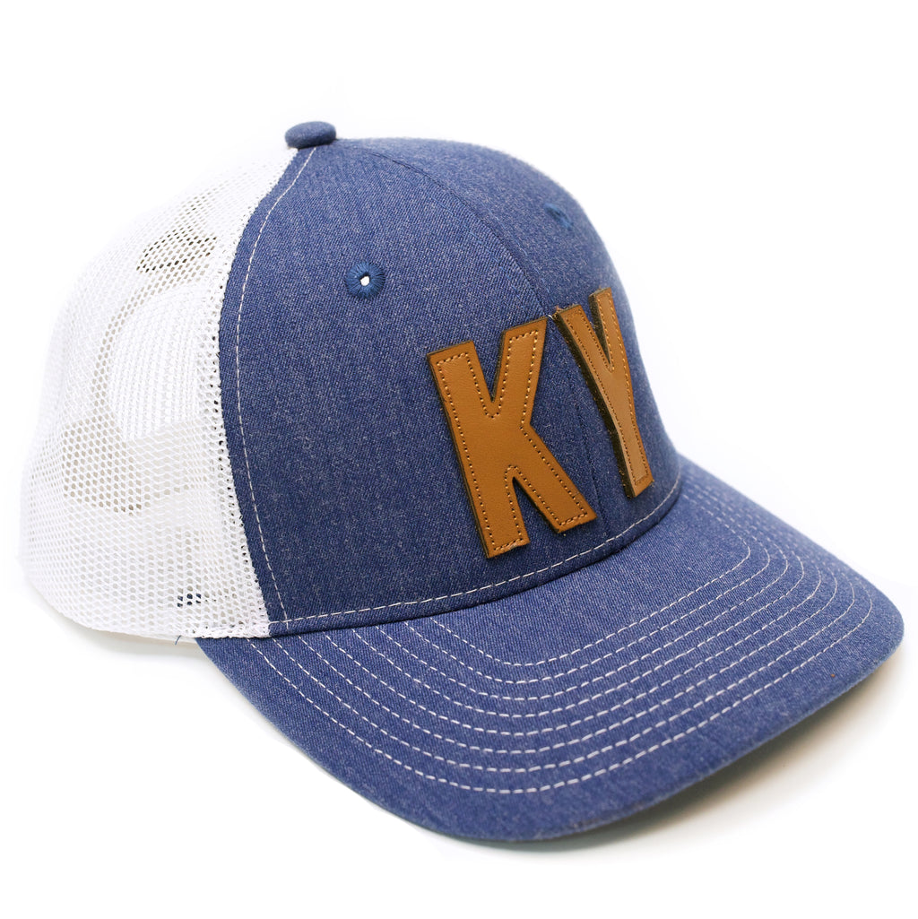 KY 2 Tone Mesh Royal Hat