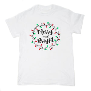 Merry & Bright Holiday Tee
