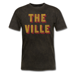 THe Ville Block - mineral black