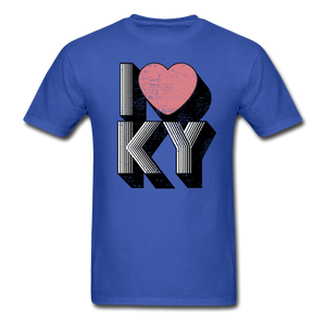 I Heart KY - royal blue
