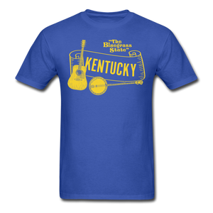 Bluegrass Jamboree - royal blue