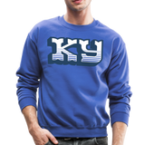 Western KY Crewneck Sweatshirt - royal blue