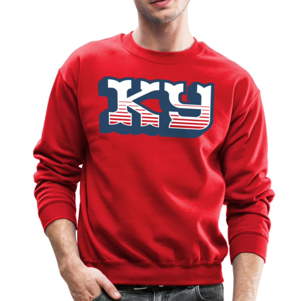 Western KY Crewneck Sweatshirt - red