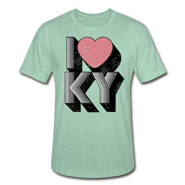I Heart KY Heather Prism T-Shirt