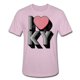 I Heart KY Heather Prism T-Shirt - heather prism lilac