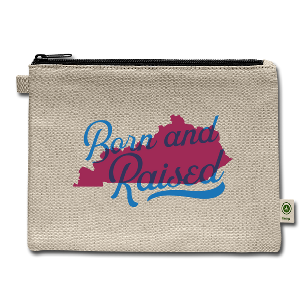 Born And Raised Carry All Pouch