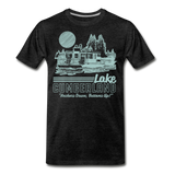 Anchors Down - charcoal gray