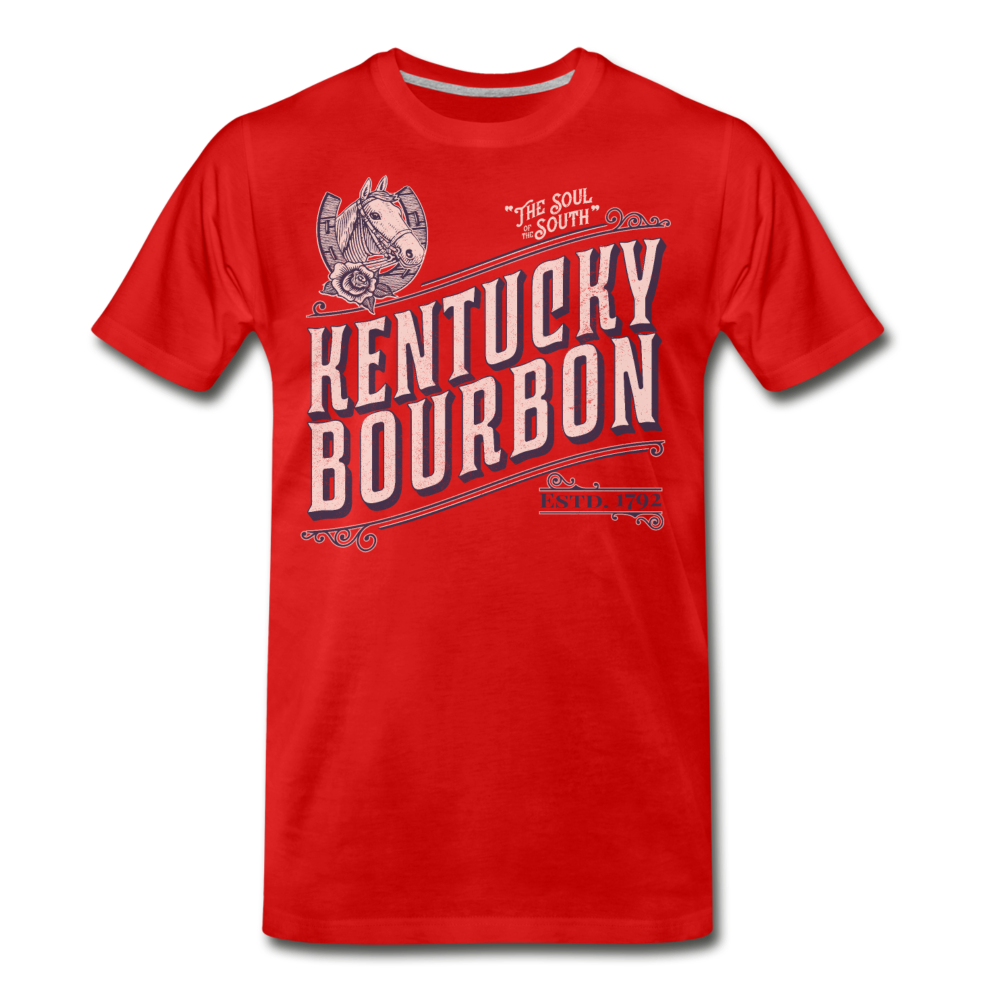Bourbon Horse - red