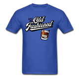 Old Fashioned - royal blue