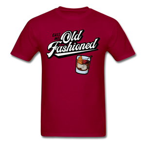 Old Fashioned - dark red