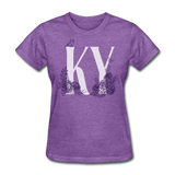 Floral KY - purple heather
