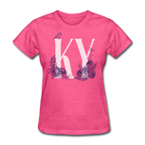 Floral KY - heather pink