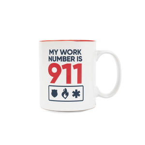 My Number is 911 Mug