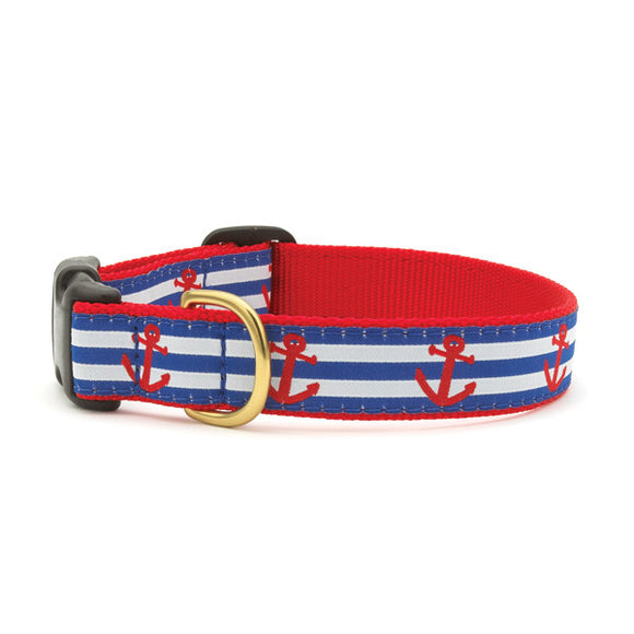 Anchors Aweigh Dog Collars from Absolutely Animals