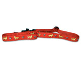 Golden Retriever Dog Collar in Red from Absolutely Animals