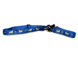 Golden Retriever Dog Collar in Blue from Absolutely Animals