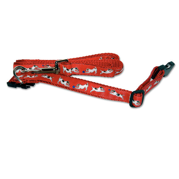 Jack Russell Dog Collar in Red from Absolutely Animals