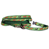 Dachshund - Miniature Dog Collar in Green from Absolutely Animals
