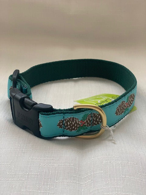 Pinecones Dog Collar