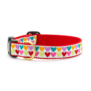 Pop Hearts Dog Collar from Absolutely Animals