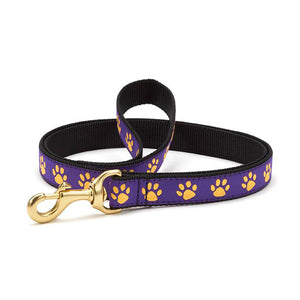 Purple Yellow Paw Lead