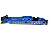 Shetland Sheepdog Dog Collar in Blue from Absolutely Animals
