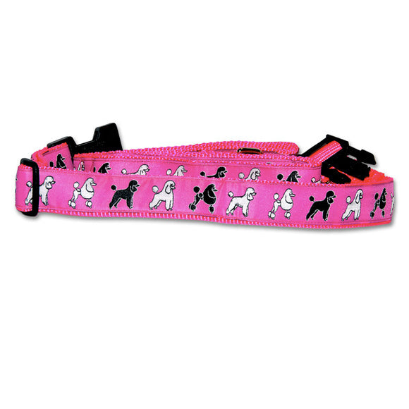 Standard Poodle Dog Collar in Pink from Absolutely Animals