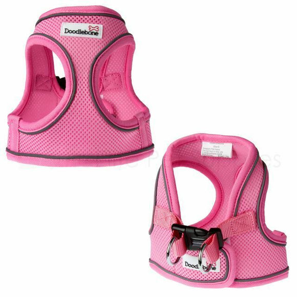 Baby Pink Airmesh Snappy Harness