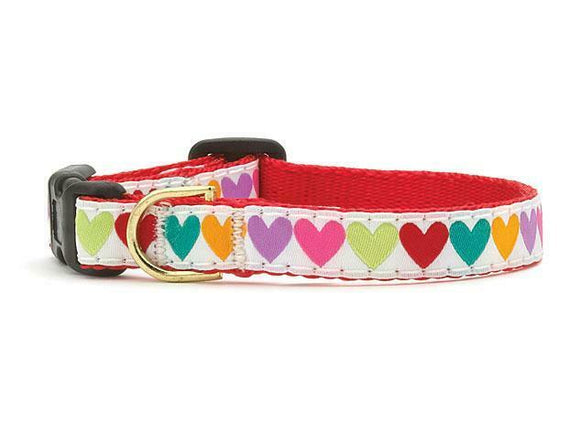 Pop Hearts Teacup Collar and Lead Set