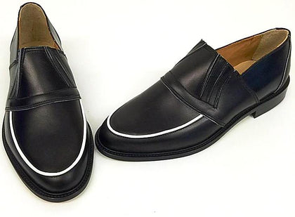50s Slip On Black/White Piping IN STOCK ONLY