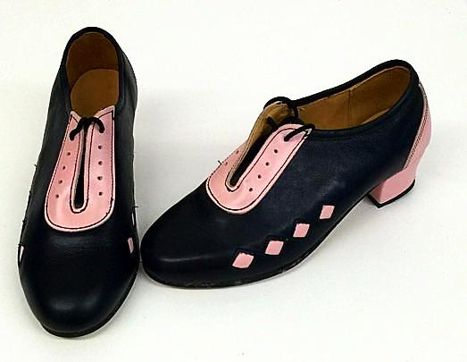 Lindy Black/Baby Pink with Diamonds  IN STOCK NOW