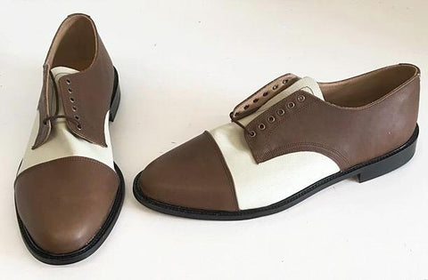 Oxford Brown/Cream Leather IN STOCK NOW