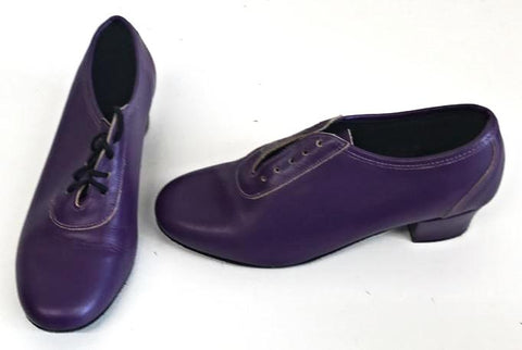Lindy Purple Suede sole  END OF LINE size 5½