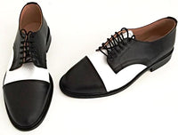 Oxford Black/White Leather  IN STOCK NOW