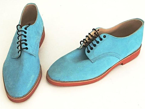 Bucks Pale Blue. Red Eva Sole IN STOCK NOW