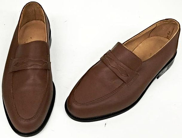Penny Loafer Tan IN STOCK ONLY size 7 1/2