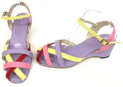 Jean Wedge Sandals Candy - IN STOCK NOW