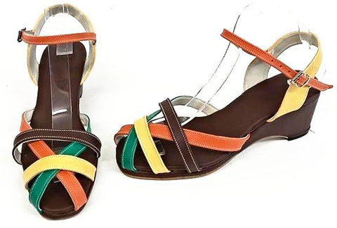 Jean Wedge Sandals Autumn - IN STOCK NOW