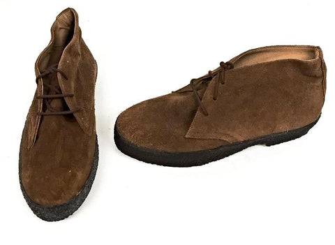 Chukka Boots Tan Suede  IN STOCK NOW