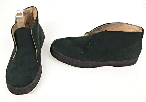 Chukka Boots Black Suede  IN STOCK NOW