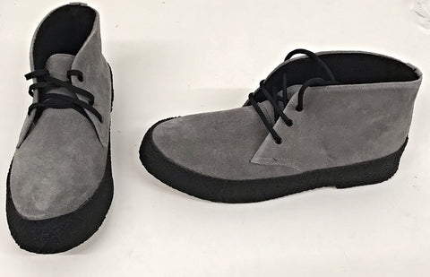 Chukka Boot Grey Suede  IN STOCK NOW  size 8