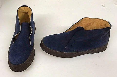 Chukka Boot Navy Suede  IN STOCK NOW  size 7