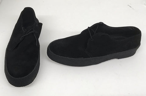 Chukka Shoe Black Suede  IN STOCK NOW