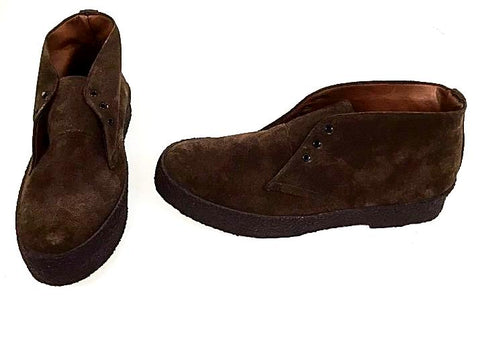 Chukka Boots Brown Suede  IN STOCK NOW
