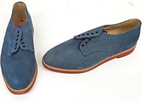 Bucks Mid Blue Bucks Red EVA Sole  IN STOCK ONLY size 12 END OF LINE