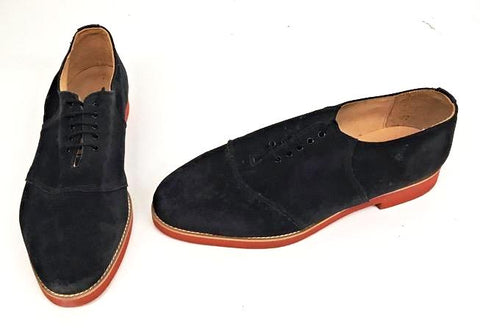 Saddle Navy Suede  size 10  END OF LINE SALE